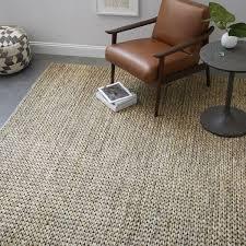 highest braided jute rug tonal platinum west elm uk