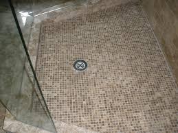 ... cool-cork-mosaic-floor-tile-simple-bathroom-floor- ...