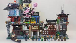 Building & Placing Ninjago City Docks 70657 - YouTube