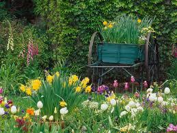 Fond D Cran Jardin Fleuri Chez Celestill