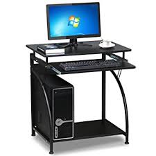 compact office furniture. go2buy black compact computer desk with slide keyboard tray and storage shelf home office furniture i