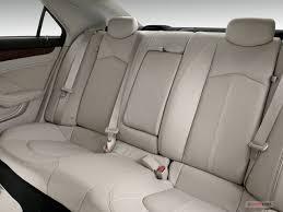 2010 cadillac cts rear seat