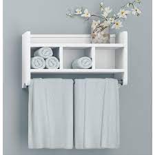 white bathroom wall shelf off 62