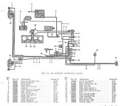 willys jeep wiring diagrams jeep surrey cj2a cj3a m38 wiring