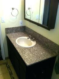 black granite bathroom countertops this picture