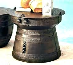 round drum accent table metal decorative decoration meaning in tamil