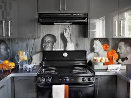 Vinyl Kitchen Backsplash Create A Vinyl Photo Backsplash Hgtv