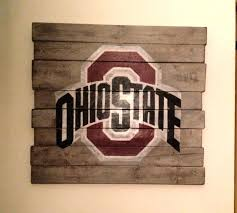 ohio state wall art state university wall hanging by on ohio state wall art