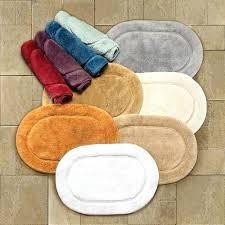 oval bathroom rugs luxurious cotton non skid oval bath rug set oval bath rugs with fringe