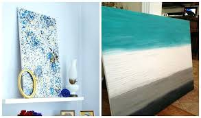creative easy canvas wall art ideas diy