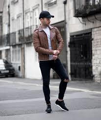 boda skins antique brown biker jacket revisted