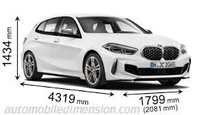 Bmw Model Chart Dimensions Of Bmw Cars Showing Length Width And Height