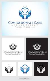 Compassionate Care By Design Logo For Massage Therapy By Franyk