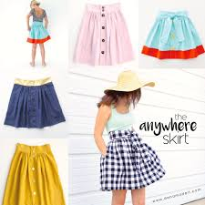 Skirt Patterns Beauteous The Anywhere Skirt Pattern For Any Age And Any Size Sewing