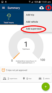 Vehicle Log Book App Learner Logbook App Help For Android Transport And Motoring