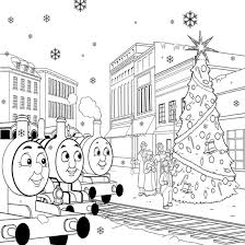 Small Picture Thomas The Train Coloring Pages Christmas ALLMADECINE Weddings