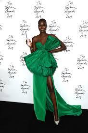 Susan Thiele Designer Adut Akech Wins Model Of The Year At 2019 British Fashion