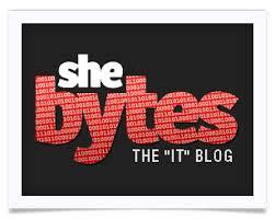 She Bytes logo