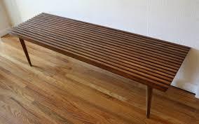 Slatted Coffee Table Coffee Table Picked Vintage