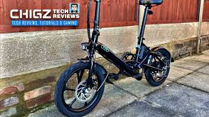 <b>FIIDO D3 Electric Bike</b> / 250W / 25KM/h / 30KM Range - Testing the ...