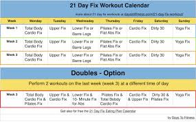 21 Day Fix Workout | Days To Fitness