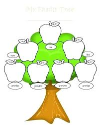 Drawing A Family Tree Template Numbers Family Tree Template