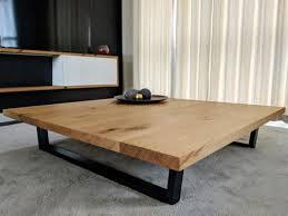 large rustic coffee table uk
