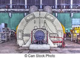 electric generator power plant. Machine Room In Thermal Power Plant Electric Generator S