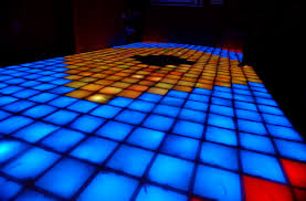 dropout design and the disco dance floor