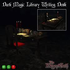 gothic office furniture. dark magic library writing desk gothic furniture for your office or den t