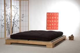 Japanese Platform Bed Delighful Japanese Platform Bed Frames Yamaguchi Frame In Honey