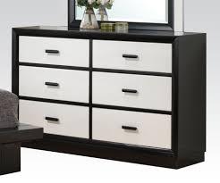black  white  drawer italian style dresser