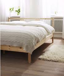 IKEA fjellse double bed frame, in very good condition, without headboard