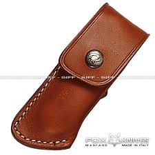 fox leather folding knife sheath available in the following lenght 10 cm knife sheaths for nylon and leather sheaths for knives always