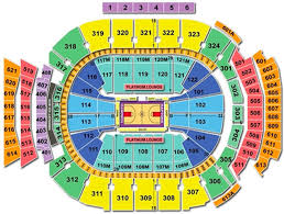 Raptors Courtside Seating Chart 14 Right Seat Number Raptors Seating Chart