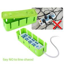 ... Multi-Color Plug Board Box Line Organizer Desktop Decoration ...