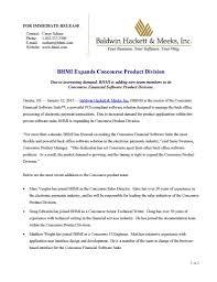 Press Releases Bhmi
