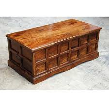 solid wood coffee table with storage this classic chest is reminiscent of mission style furniture found