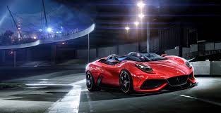 Sleek Red Sports Car Wallpaper - HD ...