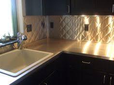 Stainless Steel Kitchen Countertop | Kitchen phase 2 | Pinterest ... & Stainless Steel Counter Top & Quilted Backsplash. Adamdwight.com