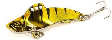 """<b>Блесна Yoshi</b> Onyx """"<b>Yalu Vib</b> Up"""", цвет: золотой, черный, 15 г ..."""