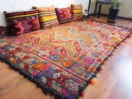 view in gallery turkish anatolian kilim rug with accent pillows jpg