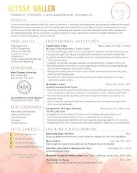 Sample Of Perfect Resume