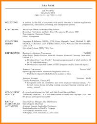 5 Cv Sample For Graduate Student Theorynpractice