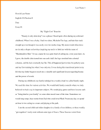 personal narrative sample essay address example personal narrative sample essay narrative essays examples for college jpg