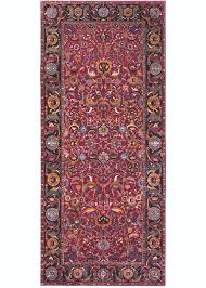 carpet esfahan 1625 1650 wool pile on cotton foundation 2 15 x 4 89 m 7 1 x 16 carpet museum of iran inv 1838