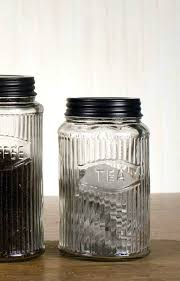 flour sugar containers glass coffee tea jars storage container sets