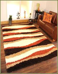orange brown area rug s brown orange green rug