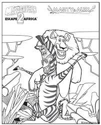 Madagascar 2 Escape 2 Africa Kleurplaat 248107 Kleurplaat