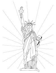 Small Picture Free Printable Statue of Liberty Coloring Pages For Kids